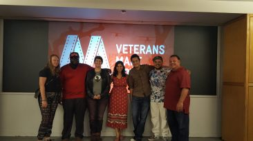 Veterans Make Movies screening with my students